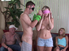 hot amateur on party