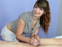 wild teen whore getting hot massage