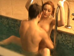 skinny teen in voyeur video outside