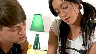 Teen seduced by her classmate